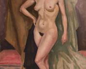 Femme nue par Louise Hervieu
