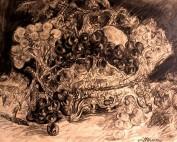 La coupe de fruits par Louise Hervieu