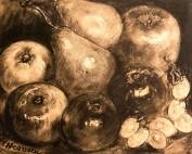 Les fruits par Louise Hervieu
