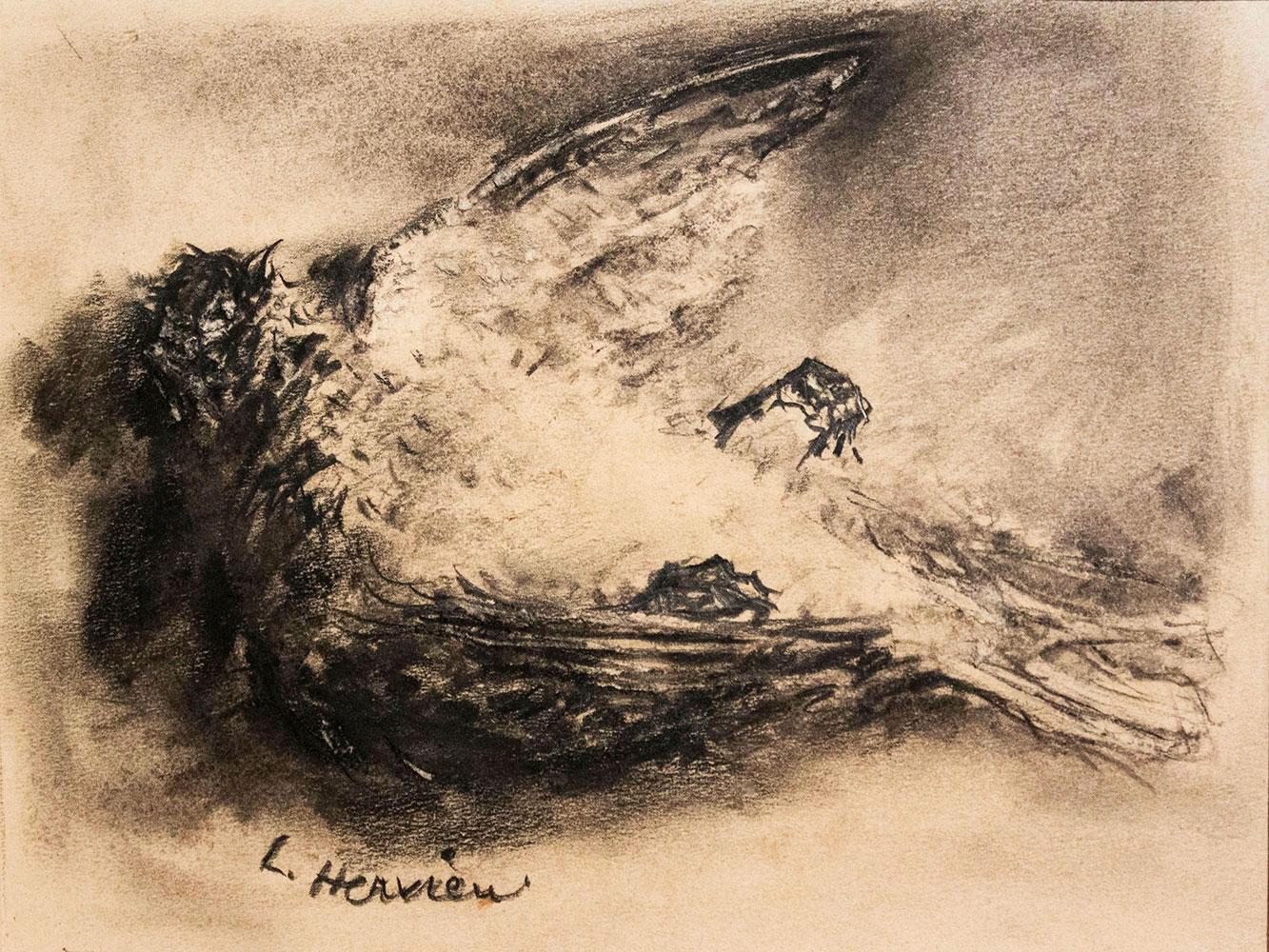 Oiseau mort par Louise Hervieu