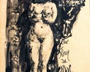 Une Fleur du Mal (1) Charles Baudelaire par Louise Hervieu